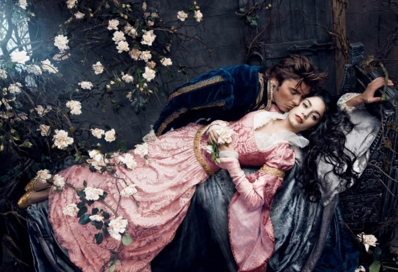 Zac Efron and Vanessa Hudgens from Sleeping Beauty
