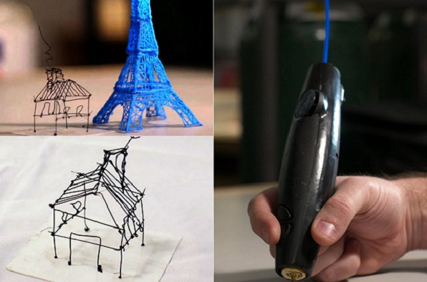 3D-Pen allows you to draw 3d objects