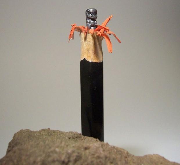 Amazing pencils sculptures