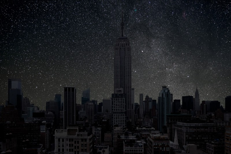 The biggest cities in the world without lights