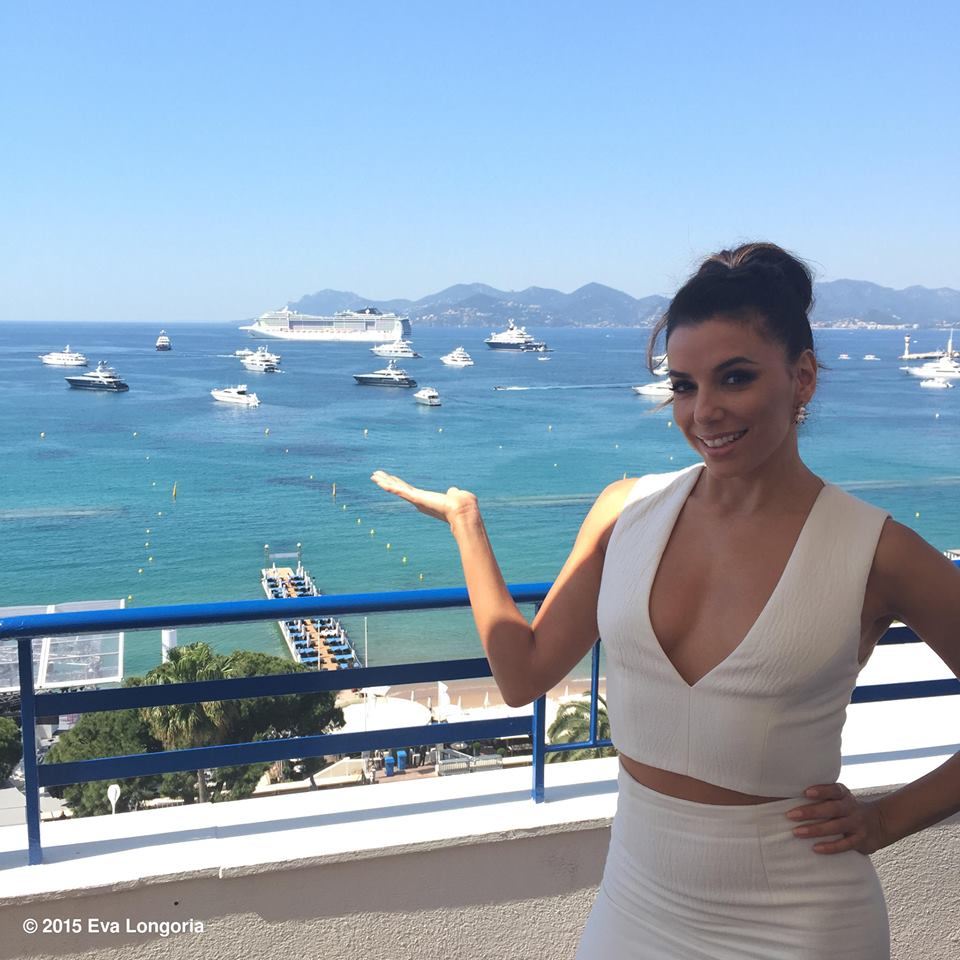 Eva Longoria at the Cannes Film Festival