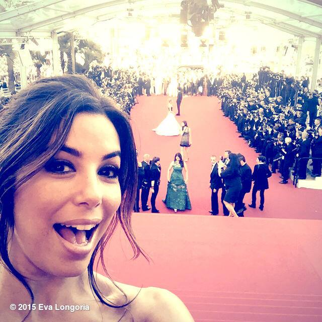 Eva Longoria has violated the rules of the Cannes