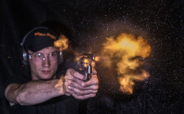 High speed ballistics photography
