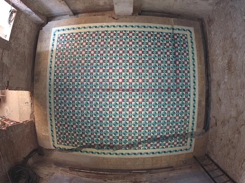 Beautiful floor patterns by Javier De Riba