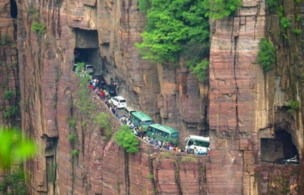 The most dangerous traffic jam on the planet