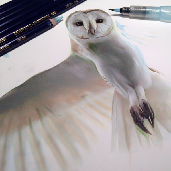 3D drawings created with pencil