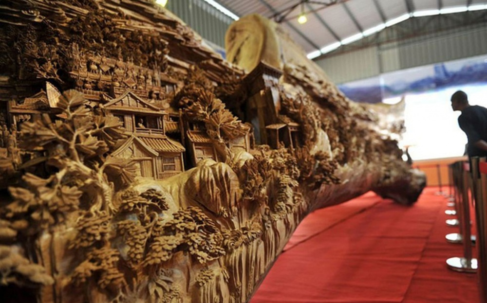 Amazing sculptures from the dried wood
