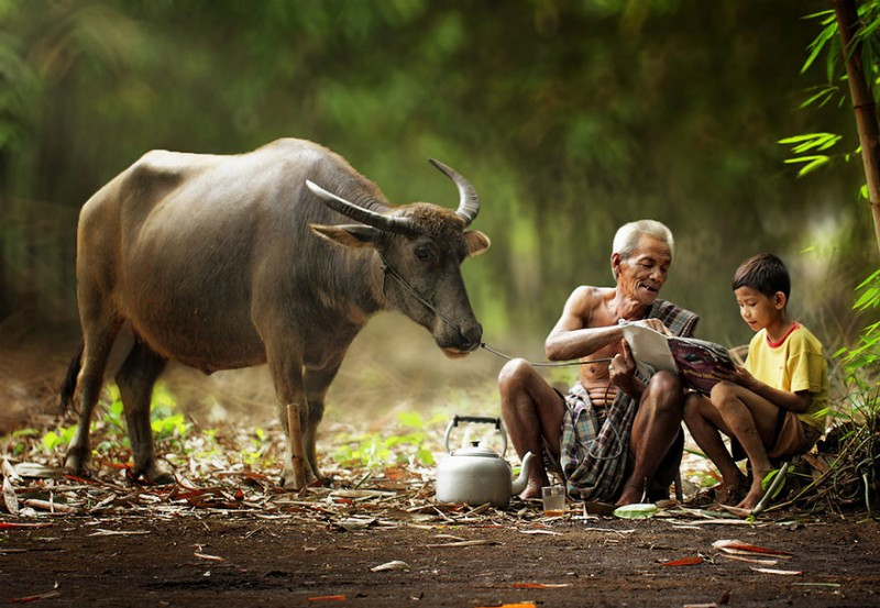 Life on Indonesian villages
