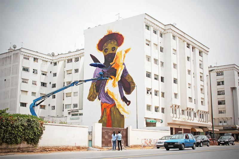 Best street art of the Moroccan capital