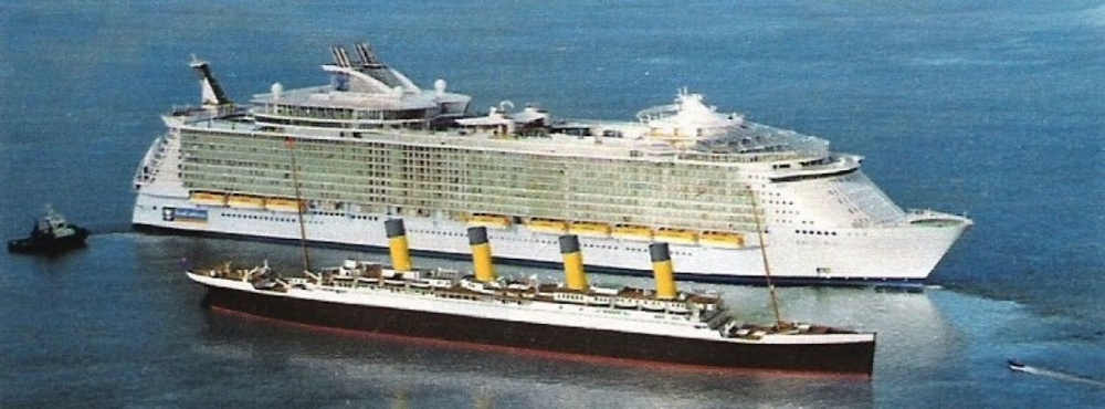The biggest cruise ship in the world