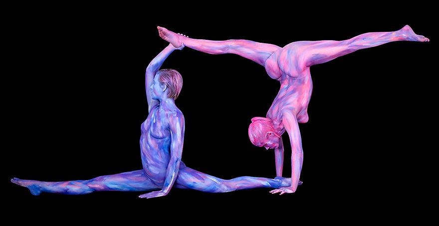 Astrological Body Art by Trina Merry