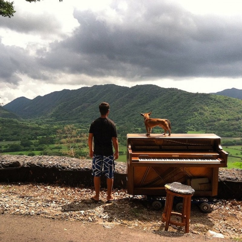 Piano across the world