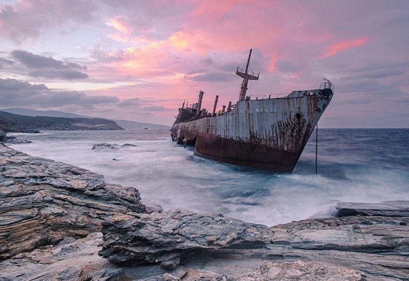 Beautiful forgotten ships