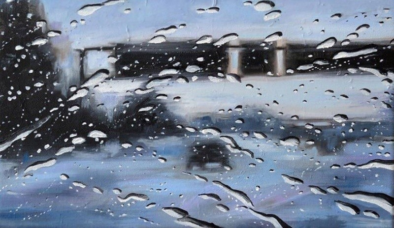 The artist that paints rain 3