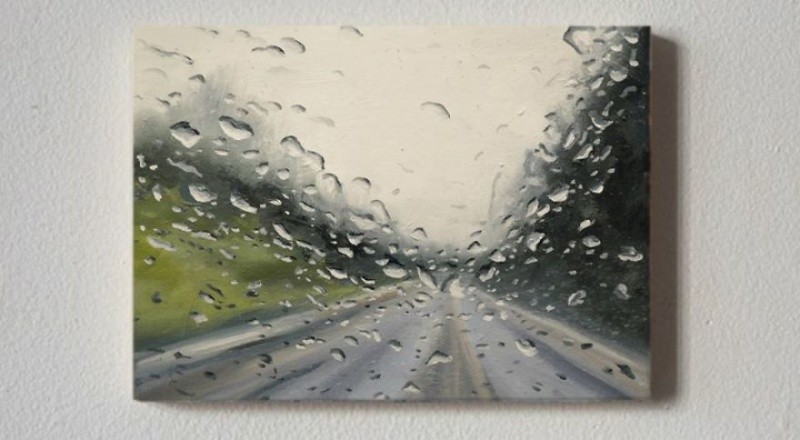 The artist that paints rain 7