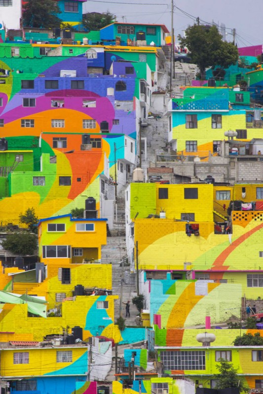 Mexican town that turned  into colorful place 4