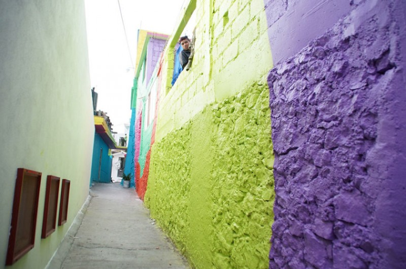 Mexican town that turned  into colorful place 7