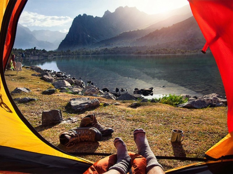 Morning views from tents 10