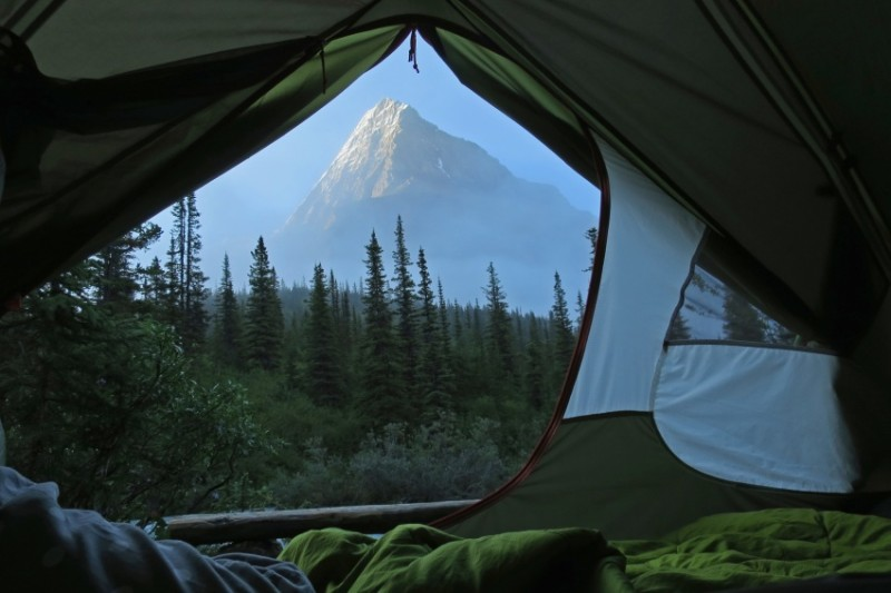 Morning views from tents