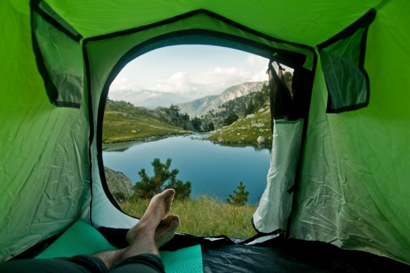 orning views from tents 7