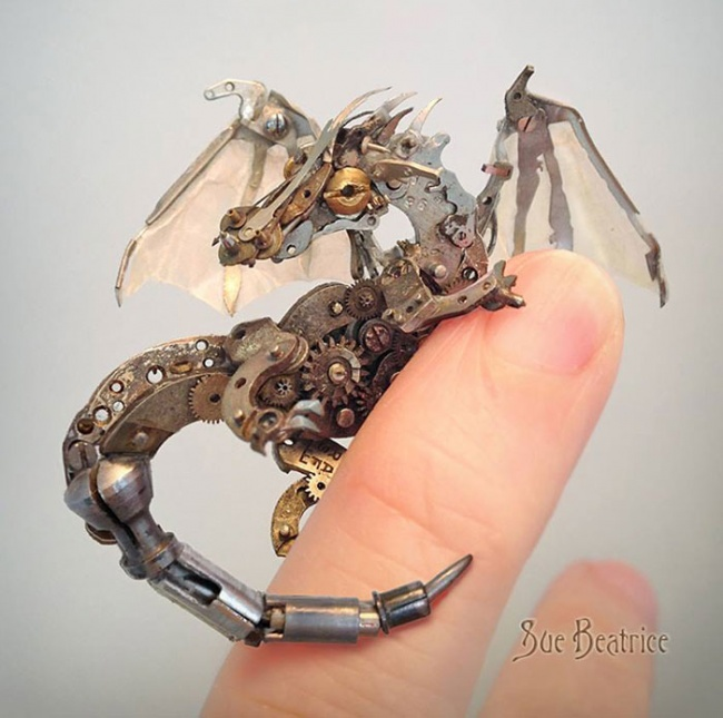 Steampunk little animals 1