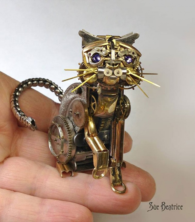 Steampunk little animals 3