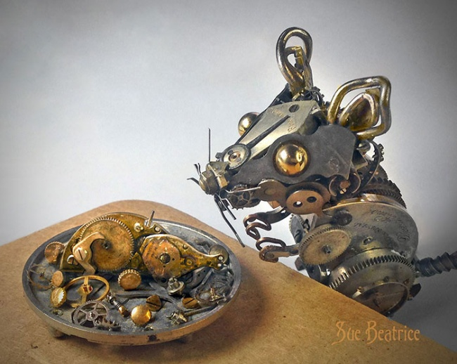 Steampunk little animals 6