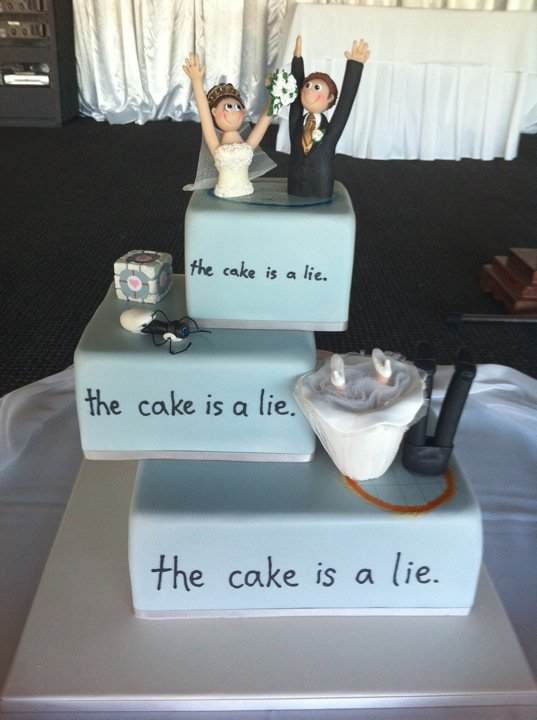 Wedding Cakes for Geeks 10