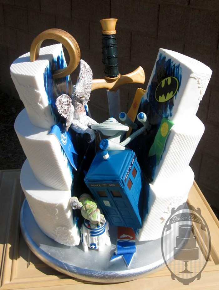 Wedding Cakes for Geeks 7