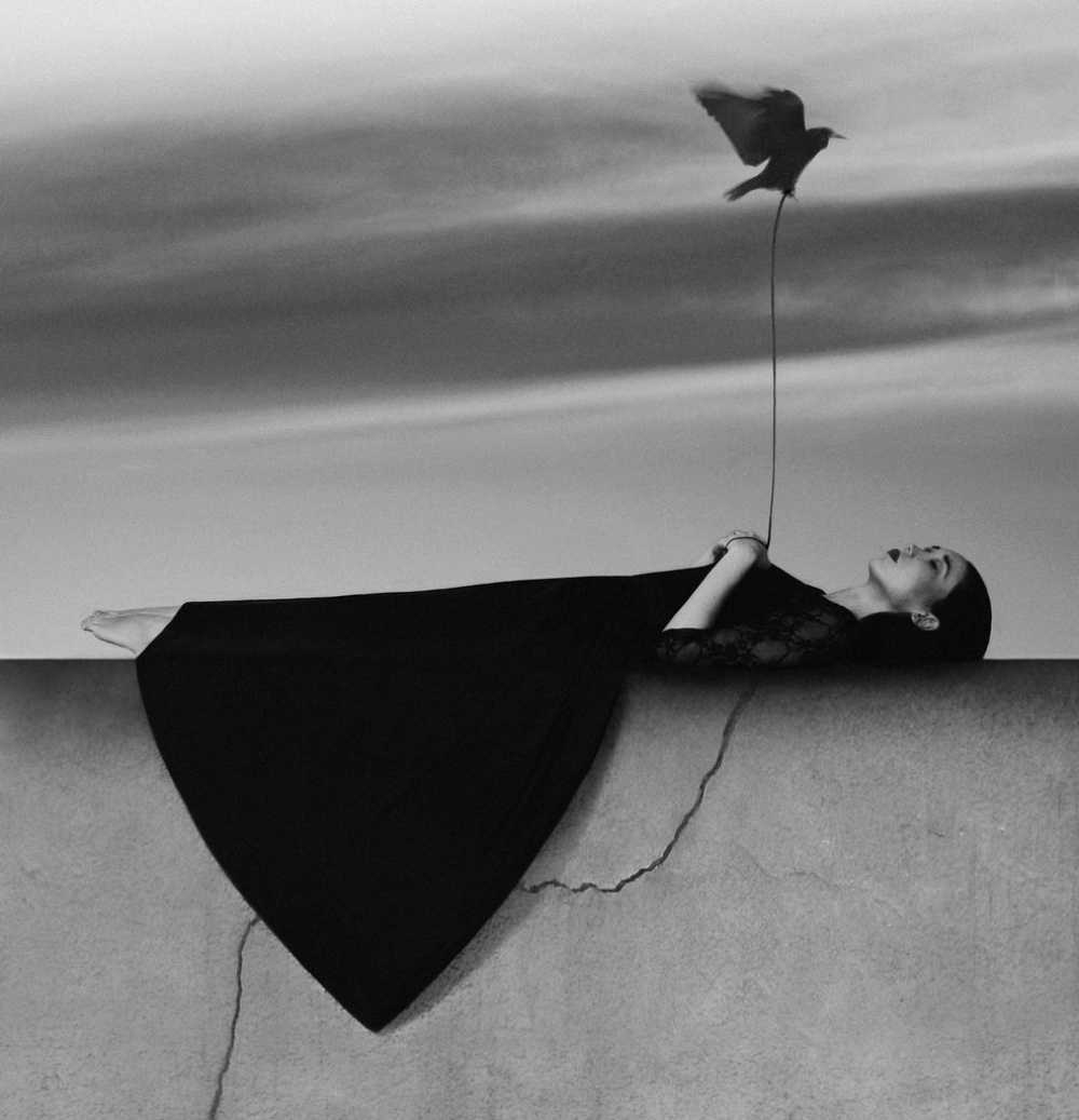 surrealistic self-portraits by Noell Oszvald 12