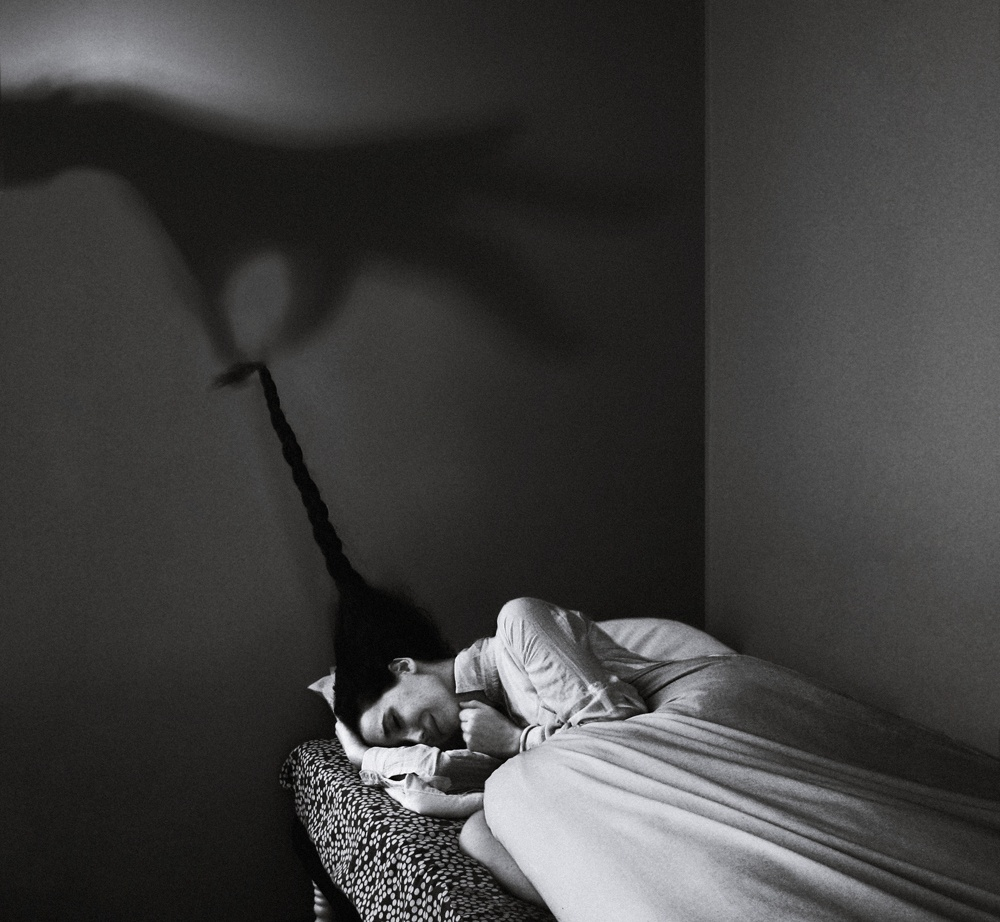 surrealistic self-portraits by Noell Oszvald 9