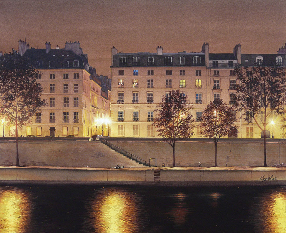 watercolor realism Thierry Duval 3