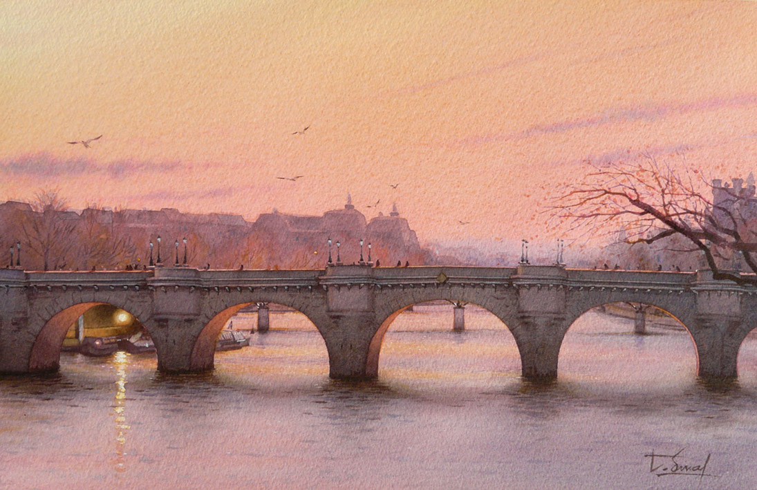 watercolor realism Thierry Duval 4