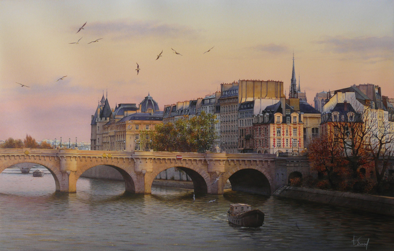 watercolor realism Thierry Duval 6