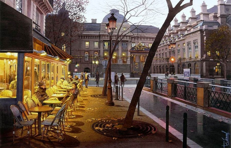 watercolor realism Thierry Duval 8