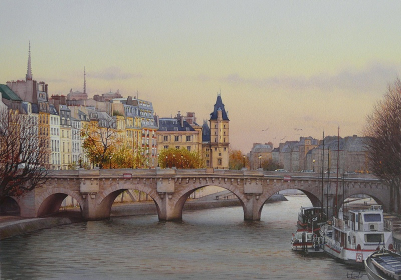 watercolor realism Thierry Duval 9