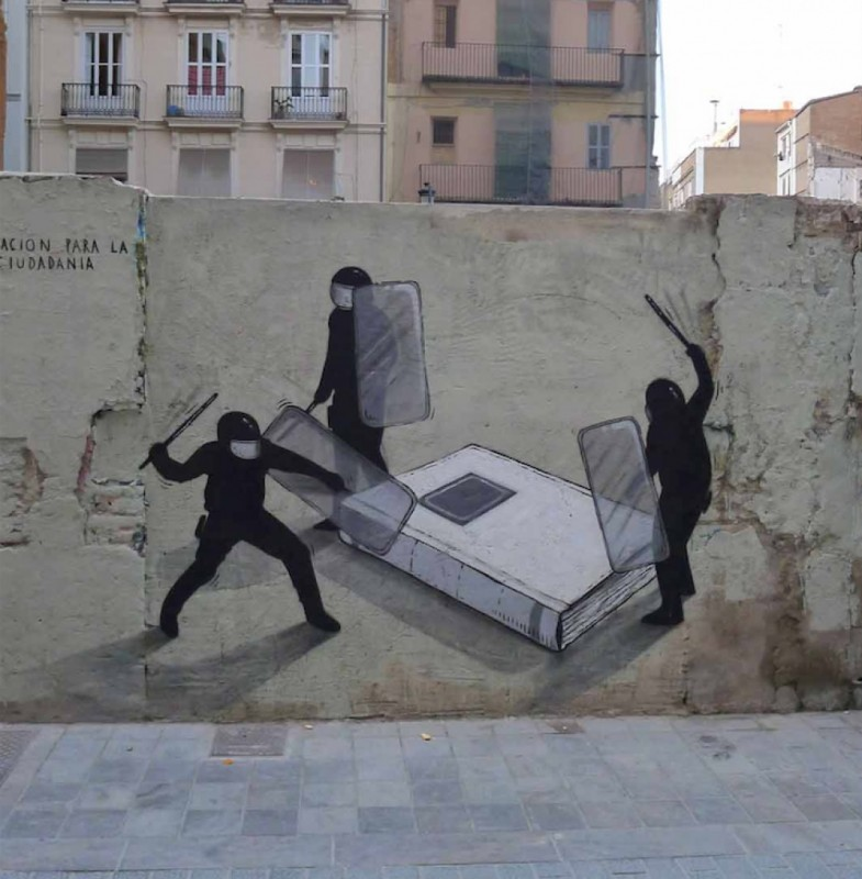 Street art with meaning. Part 2