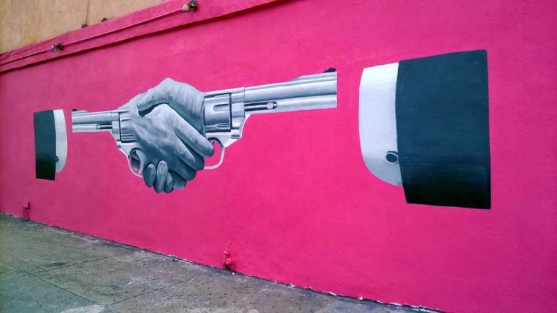 Street art with meaning. Part 1