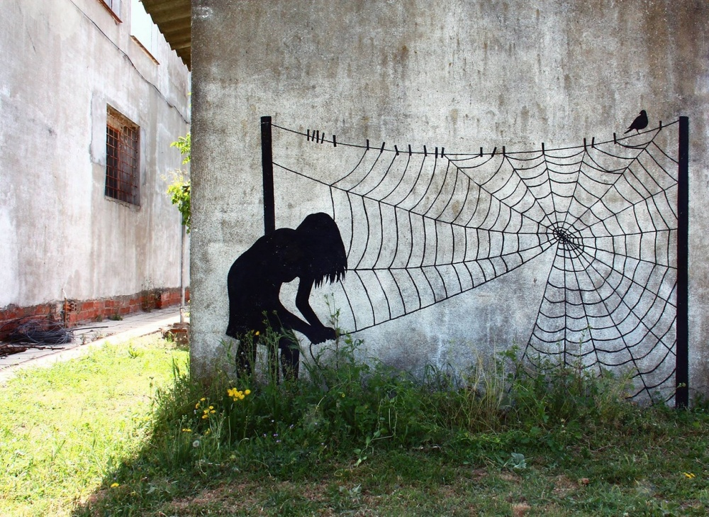 Street art with meaning 9