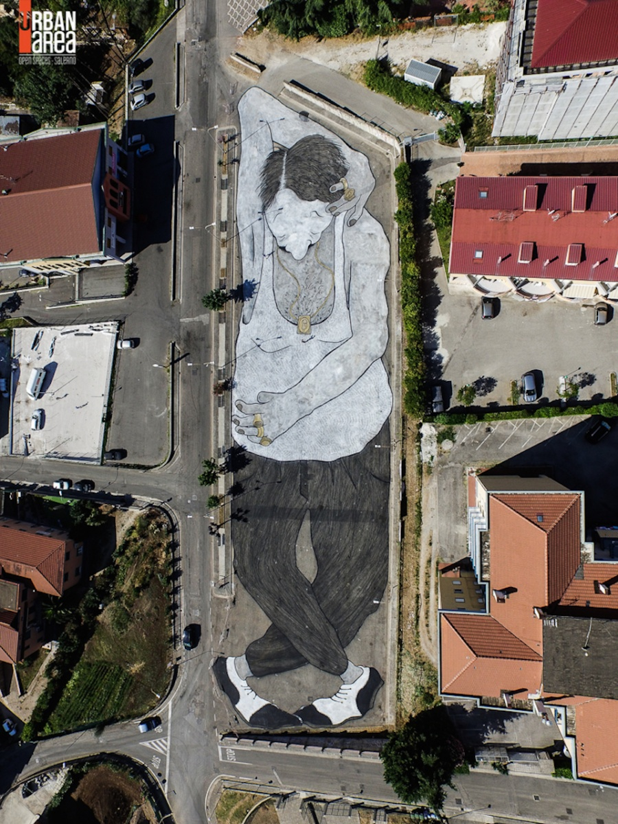 The work of street art in 2015 5