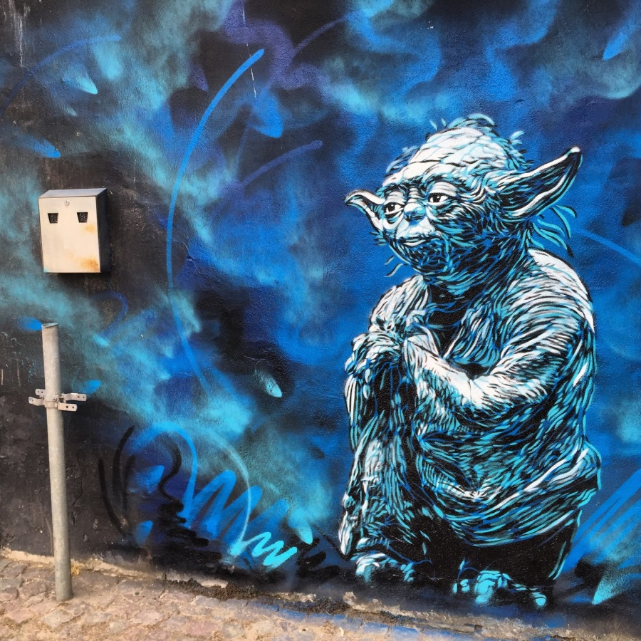 The work of street art in 2015 9
