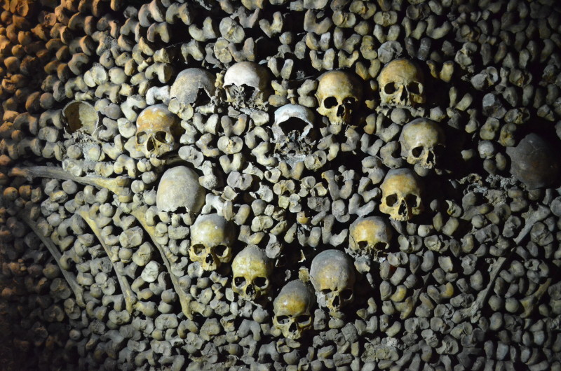 Catacombs under Paris