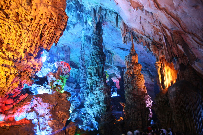 1. Reed Flute Cave, China