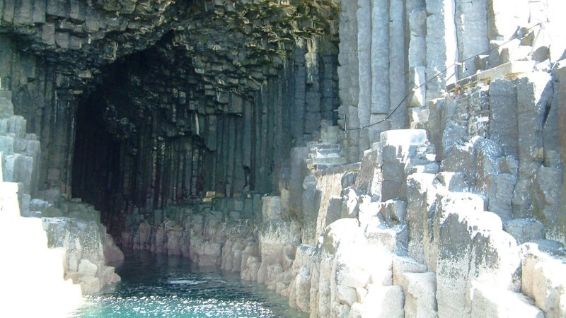 10. Fingal's Cave, Scotland