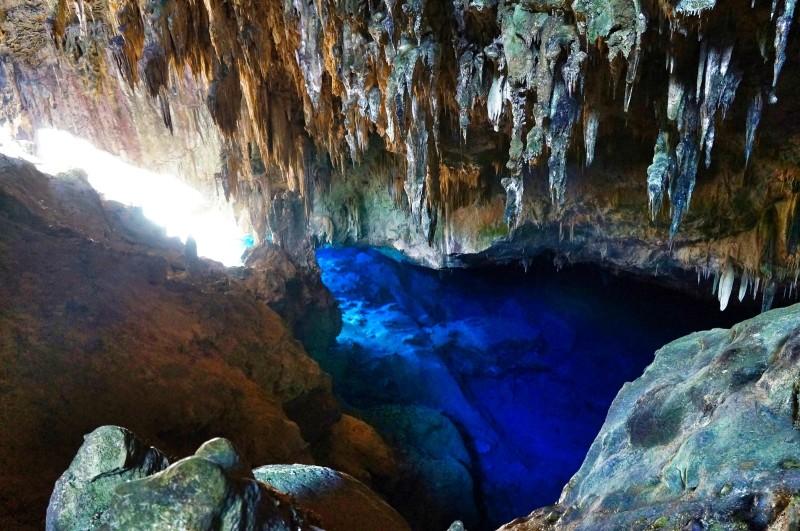 11. Blue Lake Cave, Brazil