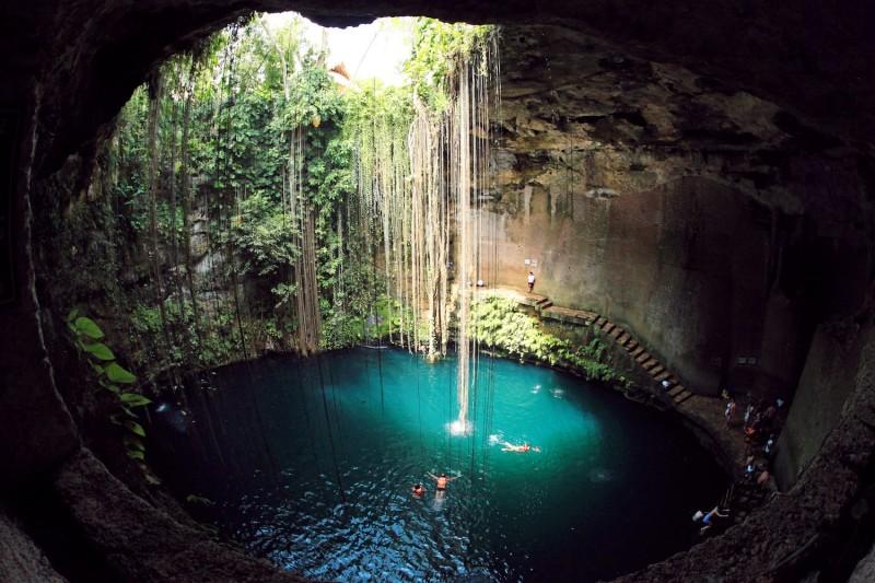 13. Cenote Ik Kil, Mexico