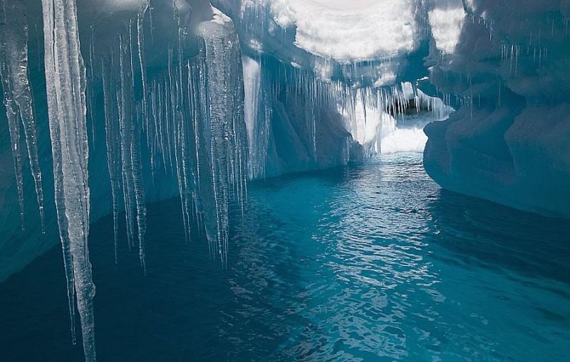 15. Ice Cave, Antarctica