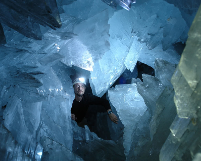 5. Crystal Cave, Mexico