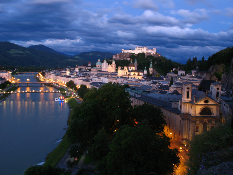 Fall in love with Salzburg