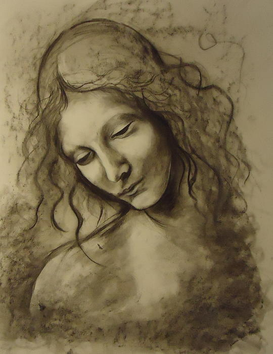 Leonardo Da Vinci's woman drawings